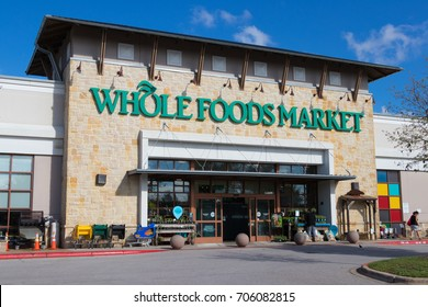 AUSTIN, TEXAS - AUGUST 29 2017: one of the Whole Foods Markets in Austin