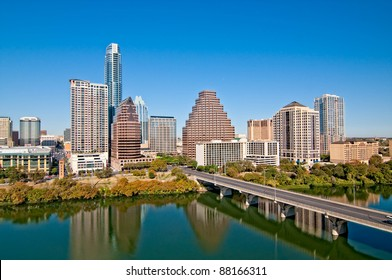 Austin, Texas Downtown Skyline