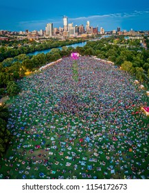 Austin, Texas Outdoor Concert Festival