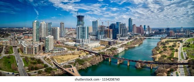 Austin, Texas Skyline Panoramic