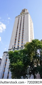 AUSTIN, TEXAS, USA - SEPTEMBER 17, 2017:  The Tower at The University of Texas