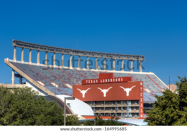 AUSTIN,TX/USA - NOVEMBER 14: Darrell K  Royal Texas Memorial Stadium at campus of  University of Texas. November 14, 2013.