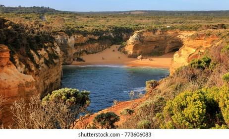 AUSTRALIA 2015 - sand beach at Loch Ard Gorge