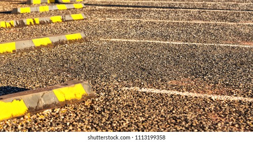 in  australia  abstract background texture of the asphalt parking line