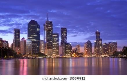 Australia, Brisbane Urban Landscape