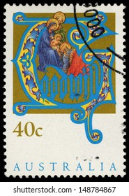 AUSTRALIA - CIRCA 1993: A stamp printed in Australia shows the Goodwill, Christmas series, circa 1993