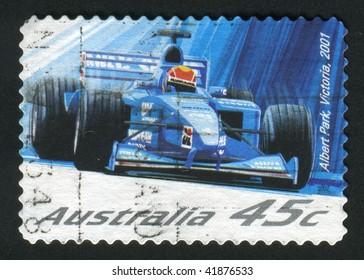 AUSTRALIA - CIRCA 2001: Albert Park is a suburb in Melbourne, Victoria, Australia, 3 km south from Melbourne's central business district., circa 2001.