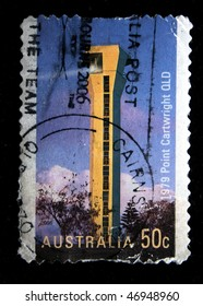 AUSTRALIA - CIRCA 2006: A stamp printed in Australia shows Fire Tower Point Gartwight OLD, circa 2006