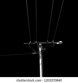 in  australia the concept of power line with electrical pole in the clear sky