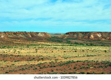 Australia, Coober Pedy, landscape in Kanku aka Breakaways national park