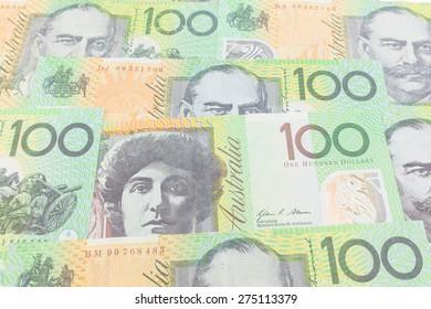 Australia dollar, bank note of Australia.