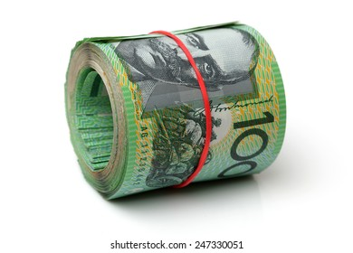 Australia Dollar, Bank note of Australia on white background