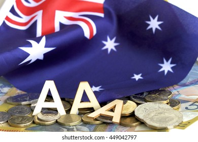 Australia - July 8 2016. On 7 July 2016 the ratings agency, Standard & Poor's to put the Australian Government's AAA credit rating on a negative watch after the recent Federal election.