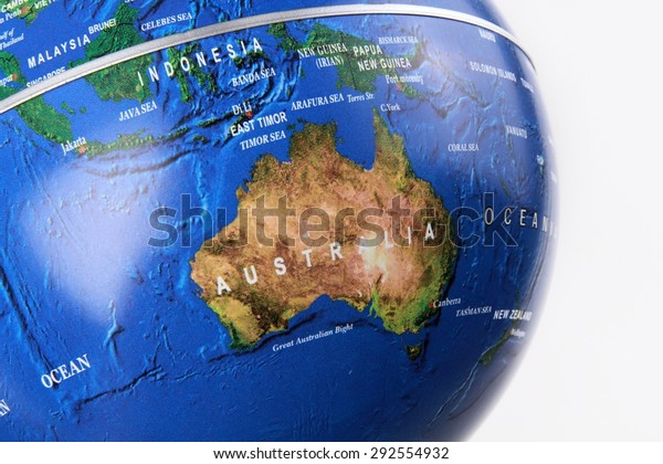 Australia Map Globe.Australia Map Globe Stock Photo Edit Now 292554932