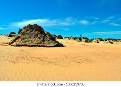 Australia, Mungo National Park in New South Wales