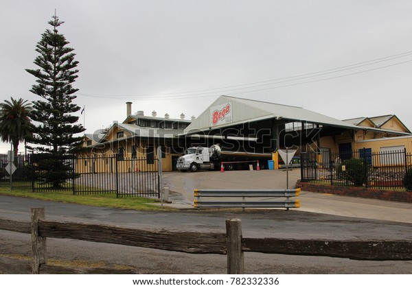 AUSTRALIA, NEW SOUTH WALES, BEGA - AUGUST 22, 2016: Building of the Bega Cheese Company