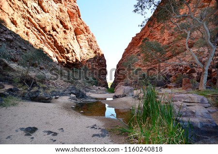 Australia Northern Territory waterhole