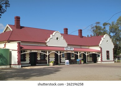 Australia, Quorn, final stop for the Pichi Richi railway
