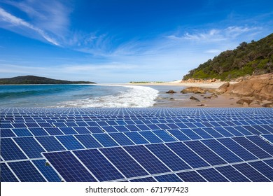 Australia, solar panels and natural relations