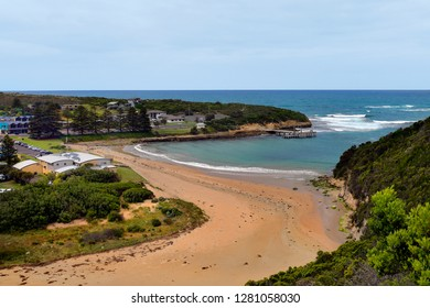 Australia, VIC, Port Campbell village on Great Ocean Road, preferred tourist attraction and travel destination,