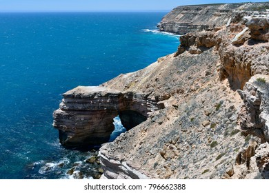 Australia, WA, coastline named castle cove in public Kalbarri National Park