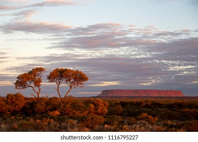 AUSTRALIA,AYERS ROCK-CIRCA AUGUST 2017-the mountain and the nature