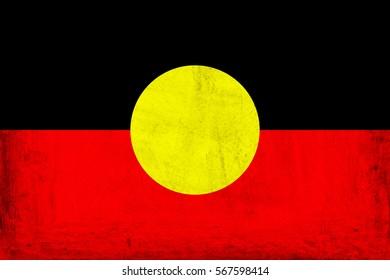 Australian Aboriginal Flag.