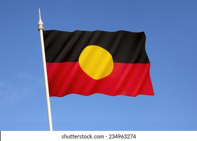 Australian Aboriginal Flag - Represents Indigenous Australians and holds special legal and political status.