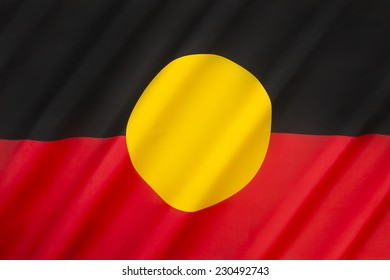Australian Aboriginal Flag - a flag that represents Indigenous Australians. It is one of the official 'Flags of Australia', and holds special legal and political status.