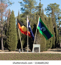 Australian Aboriginal, National, and Torres Strait Islands Flags
