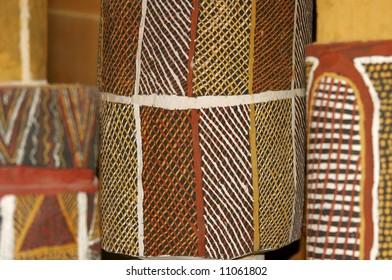 Australian aboriginal tribal art
