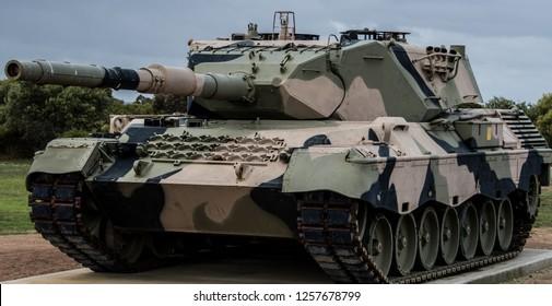Australian army tank