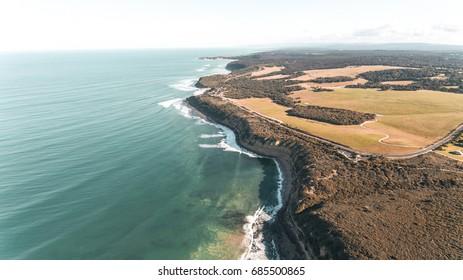Australian Coastline from Above