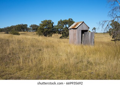 Australian country outhouse