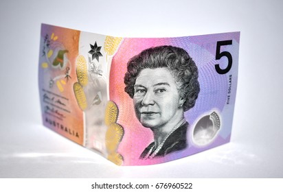 Australian Five Dollar Note