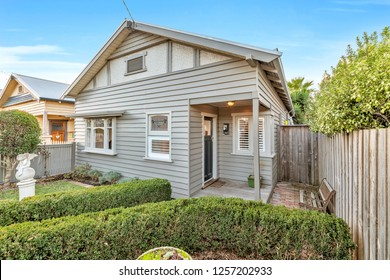 Australian House Fascade