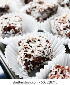 Australian Lamington Snack Cakes