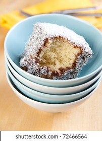 Australian Lamington Sponge Cakes