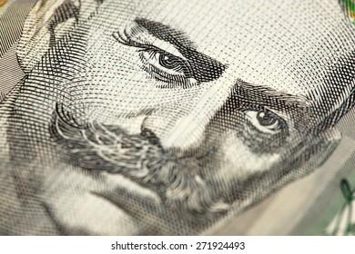 Australian Money - Aussie currency closeup