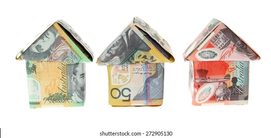 Australian Money - Aussie currency houses