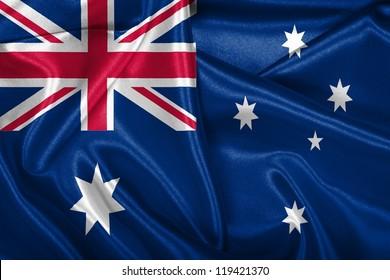 Australian national flag.