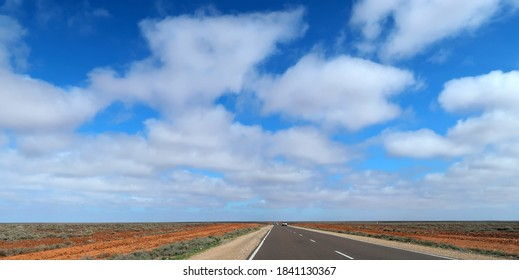 Australian Outback, landscape and road