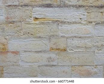 Australian Sandstone Wall