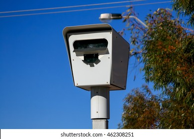 Australian Speed Camera, used for Red Light, Speeding and Point to Point Enforcement around the country. Often capable of number place recognition for other infringements.