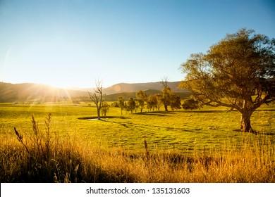An australian sunset