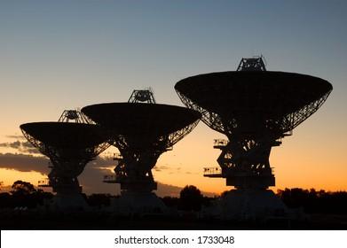 Australian Telescope Compact Array, Narrabri, NSW, Australia