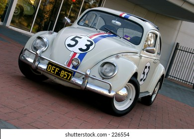 Australia's 'best' Herbie replica... all details accurate, including number plate - judged in 2004
