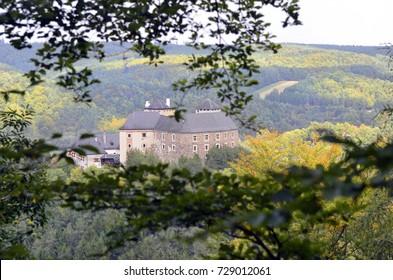 Austria, castle Lockenhaus in Burgenland