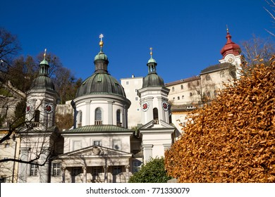 Austria, city, Salzburg- 12/09/2012: Building with domes