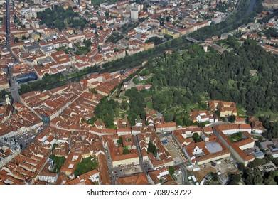 Austria Graz aerial photo